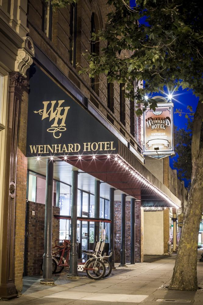 The Weinhard Hotel twilight picture
